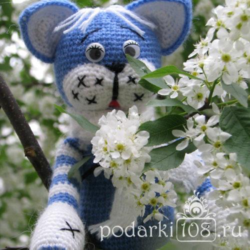 Вязаный Кот Мурзик