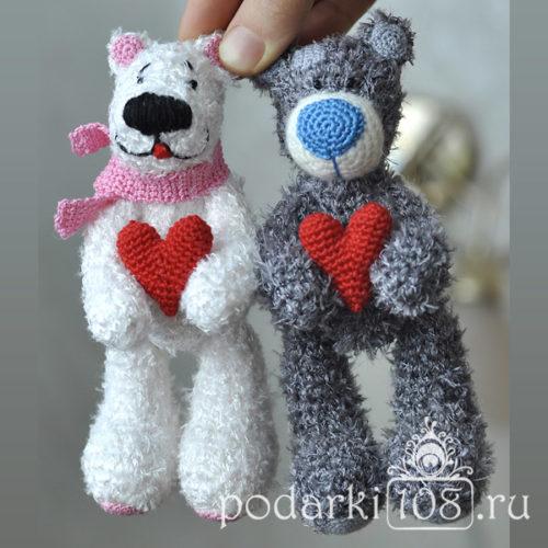 Вязаные Мишки Тедди