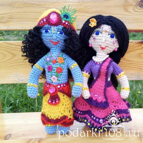 Куклы Радха-Кришна