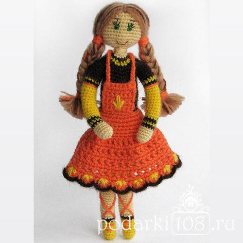 Вязаная кукла Натали