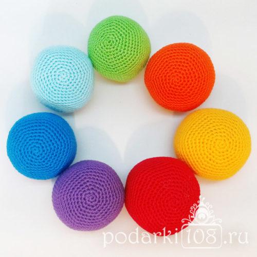 Вязаные мячи рудуга
