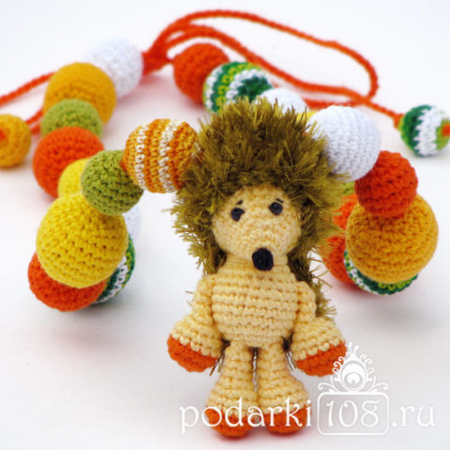 Слингобусы с игрушкой Еж