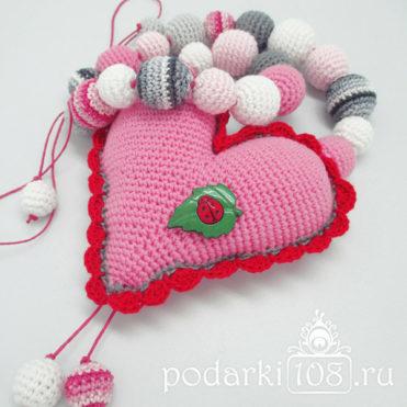 Слингобусы с игрушкой Сердце