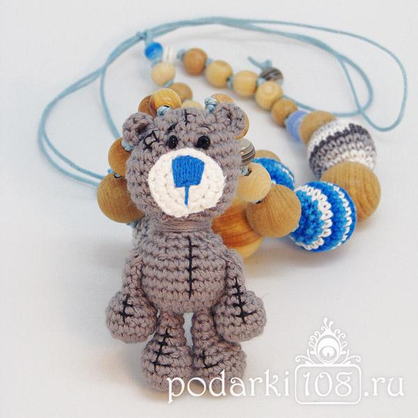 Слингобусы с игрушкой Мишка Тедди Косолапый