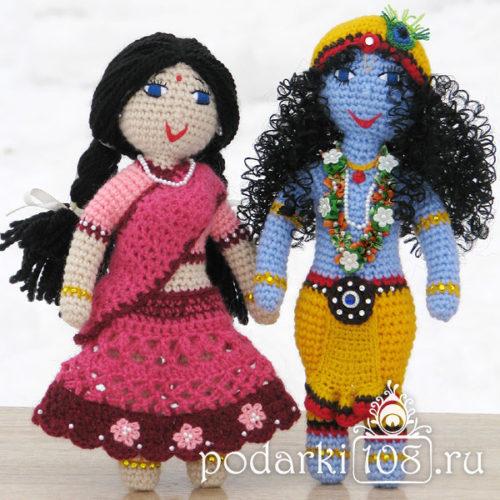 Куклы Радха Кришна