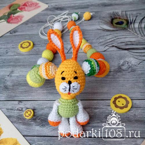 Слингобусы с игрушкой Зайчик Солнечное лето