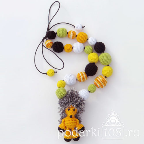 Слингобусы с игрушкой Еж Ежа