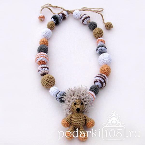Слингобусы с игрушкой Ежик Феня