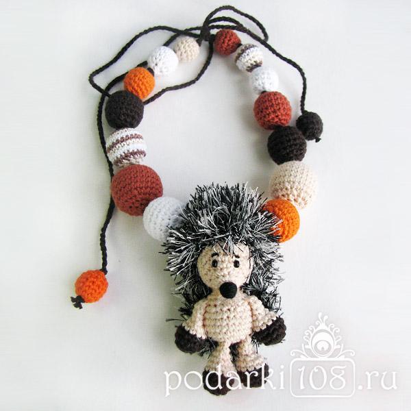 Слингобусы с игрушкой Ежик Фини