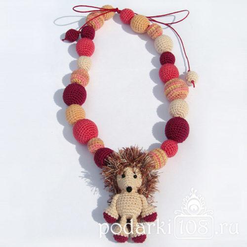 Слингобусы с игрушкой Ежик Малиновое утро