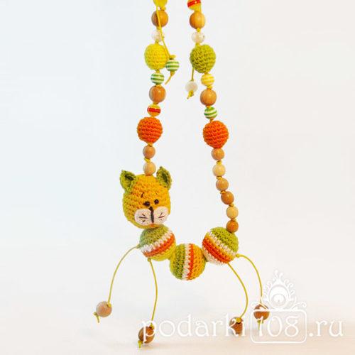 Слингобусы с игрушкой Кот солнечное лето