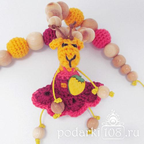 Слингобусы с игрушкой Коза Лили