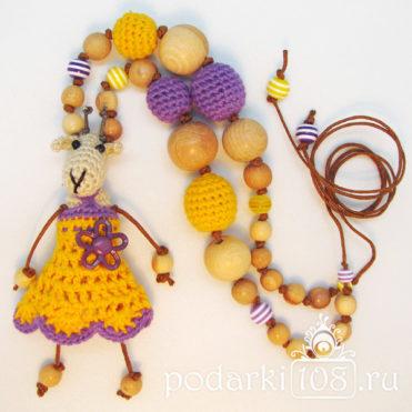 Слингобусы с игрушкой Коза Влада