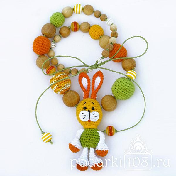 Слингобусы с игрушкой Зайчик лето