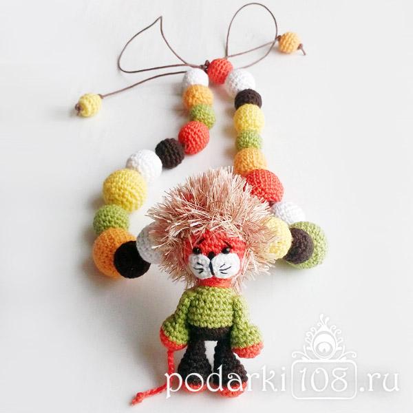 Слингобусы с игрушкой Лев