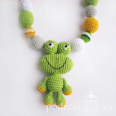 Слингобусы с игрушкой Лягушонок Фрог