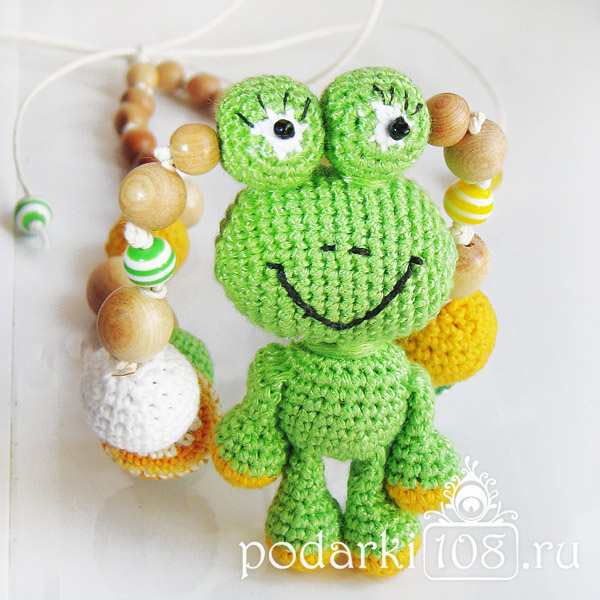 Слингобусы с игрушкой Лягушонок Гери