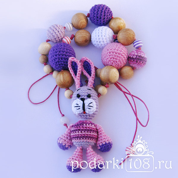 Слингобусы с игрушкой Майский Зайчик