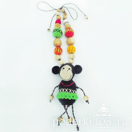 Слингобусы с игрушкой Обезьяна Фиона