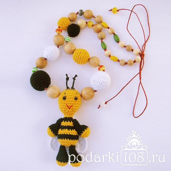 Слингобусы с игрушкой Пчелка Жужик