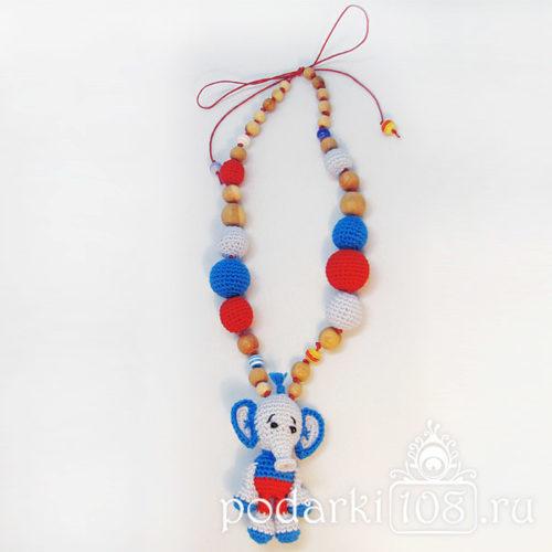 Слингобусы с игрушкой Слон Тини