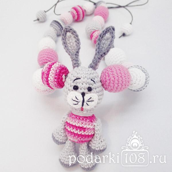 Слингобусы с игрушкой Зайчик Розочка