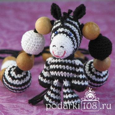 Слингобусы с игрушкой Зебра Визи