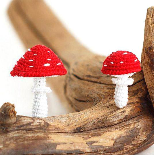 Мастер-класс Вязаный мухомор подробное описание вязаных грибов