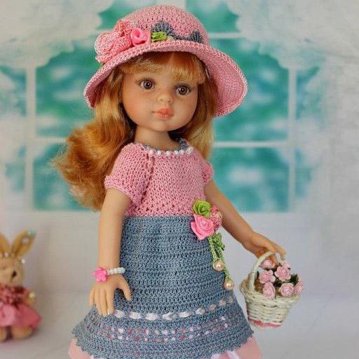 Вязаная одежда для кукол. Вдохновение