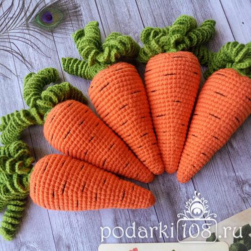 Вязаная Морковка