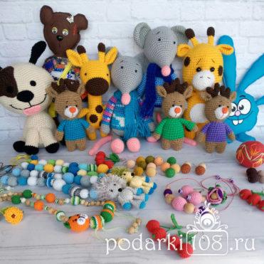 Вязаные игрушки Подарки 108