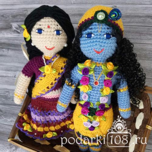 Кукла Радха Кришна