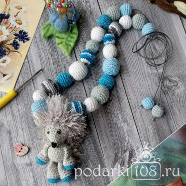 Слингобусы с игрушкой Ежик Митя