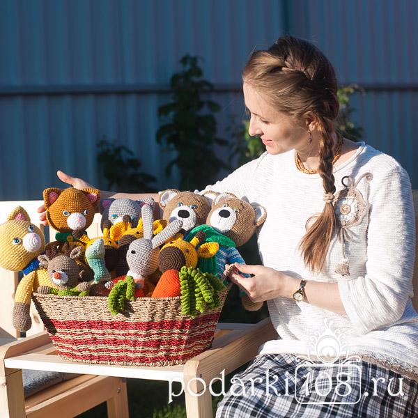 Екатерина Экасан Вязаные игрушки Слингобусы