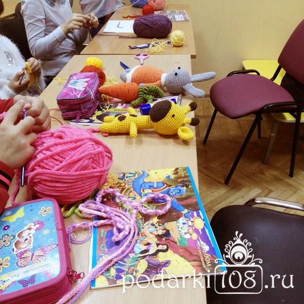 Кружок в ДК Керамик Вязаные игрушки