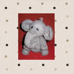 Описание и схема вязаного слоника