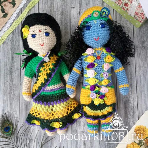 Кукла Кришна Радха купить