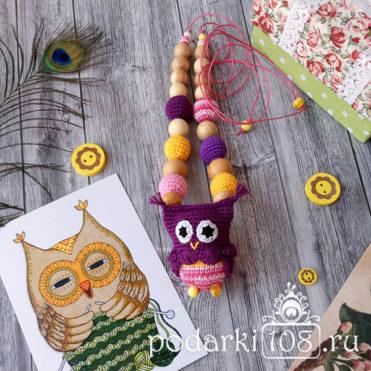 Слингобусы с игрушкой Сова
