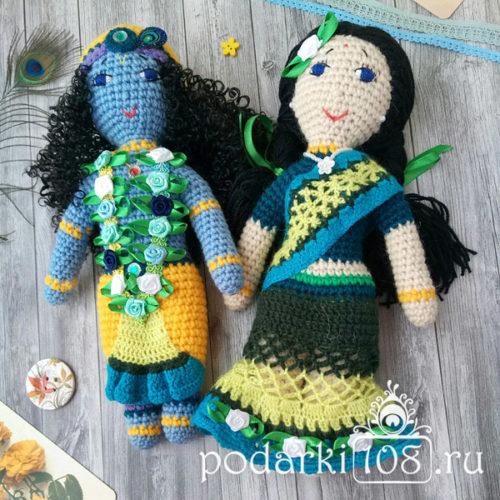 Кукла Радха Кришна купить
