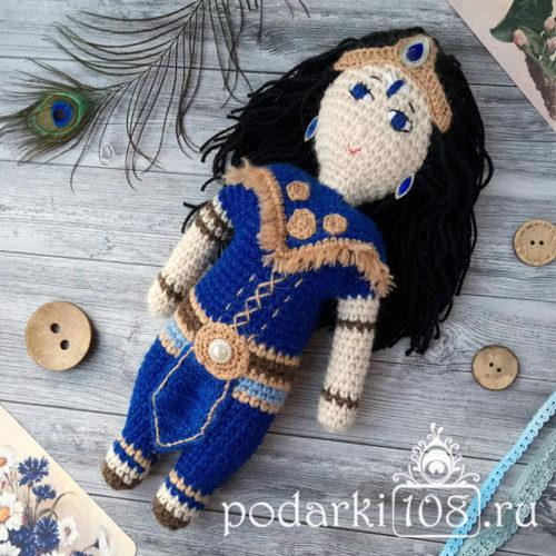 Вязаная кукла Шанидев