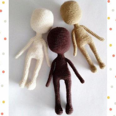 Мастер класс Вязаное тело кукле Описание
