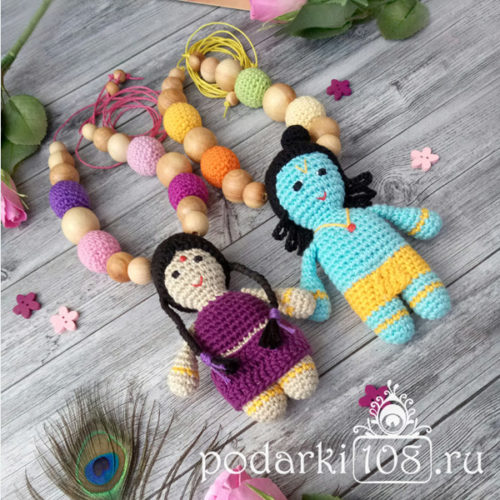 Слингобусы с Радхой и Кришной