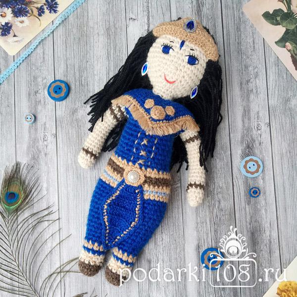 Вязаная Кукла Шани Сатурн