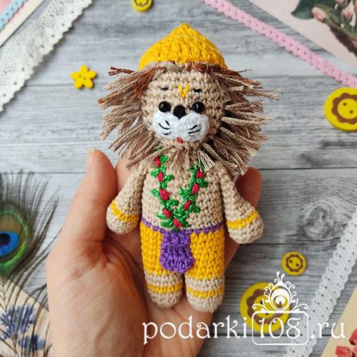 Вязаная кукла Нарасимха