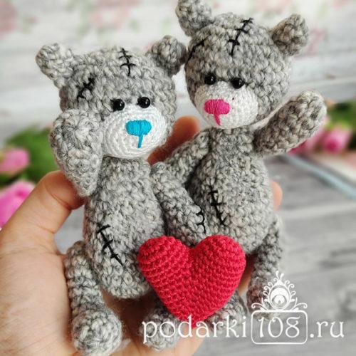 Мишки Тедди крючком