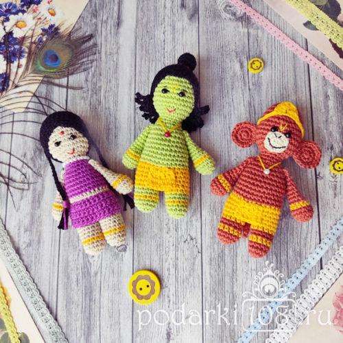 Сита Рама Хануман куклы купить