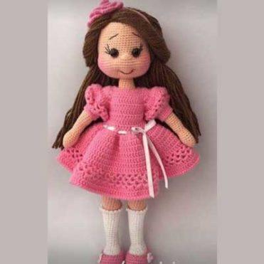 МК Вязаная кукла крючком