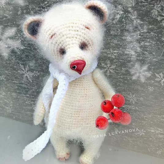 Мишка Описание вязания